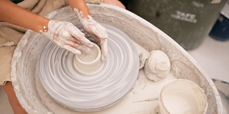 Kids Pottery Course, Term 1-  Wheel work and Hand building (ages 8-13) tickets