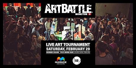Art Battle Moncton - February 29, 2020 tickets