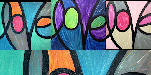1.26 Couples (and Singles) Crafternoon - Love Painting with Angela
