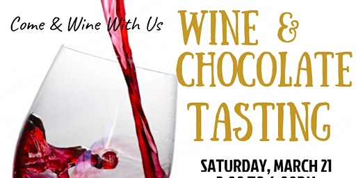 Wine & Chocolate Tasting Fundraiser