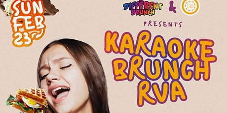 KARAOKE BRUNCH RVA Presented By A DIFFERENT BRUNCH TOUR tickets