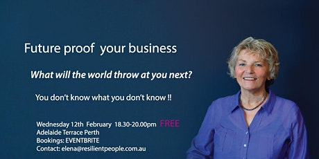 Stressproof Your Business tickets