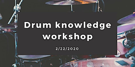Drum Knowledge Workshop // tuning, hardware, setup, technique, beats & more tickets