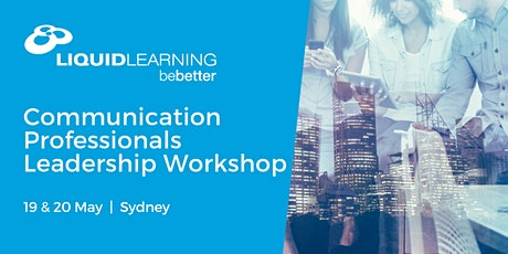 Communication Professionals Leadership Workshop tickets