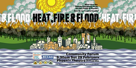 HEAT, FIRE & FLOOD tickets