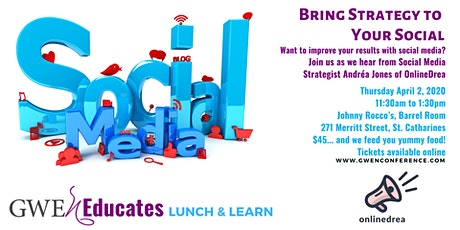 Bring Strategy to Your Social: GWEn Lunch & Learn tickets