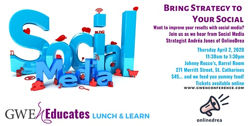 Bring Strategy to Your Social: GWEn Lunch & Learn