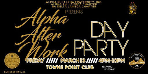 Alpha After Work Day Party