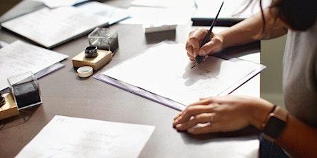 Beginner Pointed Pen Calligraphy Workshop (3-6 PM) tickets