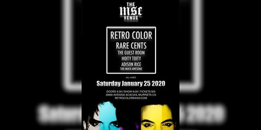 Retro Color & Rare Cents