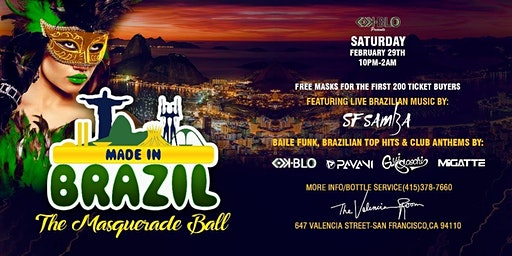 MADE IN BRAZIL-THE MASQUERADE BALL EDITION
