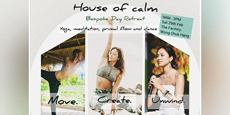 House Of Calm: Exclusive Stress Release Retreat tickets