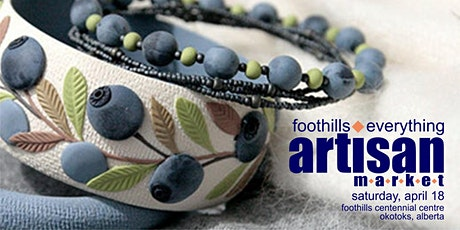 "Foothills ""Everything Artisan"" Market tickets"