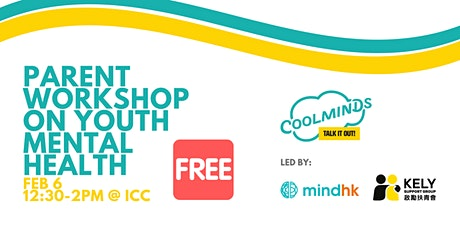 Coolminds Parent Workshop on Youth Mental Health tickets