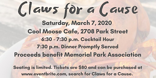 Claws for a Cause benefiting Memorial Park Association