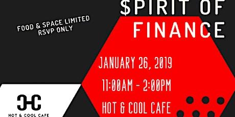 The Spirit of Finance Financial Education Workshop tickets