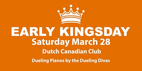 Early Kings Day with live music by Duelling Divas tickets