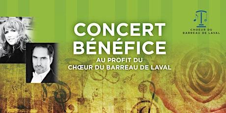 Concert bénéfice  billets