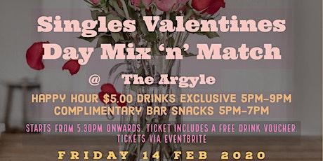 Valentine's Day Singles Mix & Match  tickets