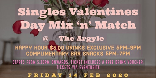 Valentine's Day Singles Mix & Match