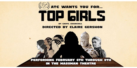 ATC Presents: Top Girls by Caryl Churchill tickets