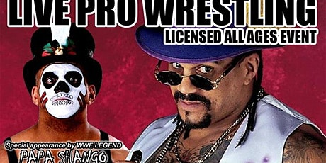 Real Canadian Wrestling - Wrasslin Ain't Easy 2020 (Godfather Papa Shango) tickets