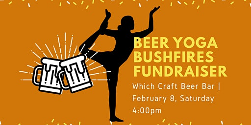Beer Yoga Bushfire Fundraiser for Firefighters and Koalas