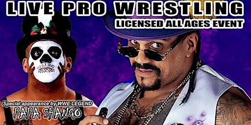 Real Canadian Wrestling - High Times 2020 with the Godfather Papa Shango
