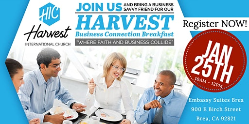 Harvest Business Connection Breakfast