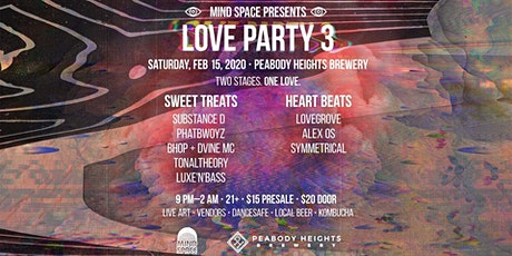 The Love Party 3 tickets