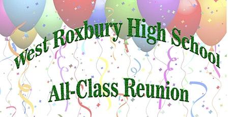 West Roxbury High School All-Class Reunion tickets