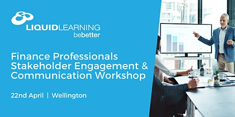 Finance Professionals Stakeholder Engagement & Communication Workshop tickets