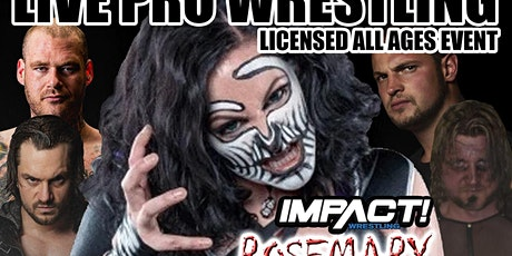 Real Canadian Wrestling - Monster Brawl YYC 2020 with Impact Star Rosemary tickets