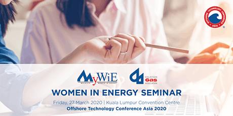 Women in Energy Seminar by MyWiE  in collaboration with MGA | OTC Asia 2020 tickets