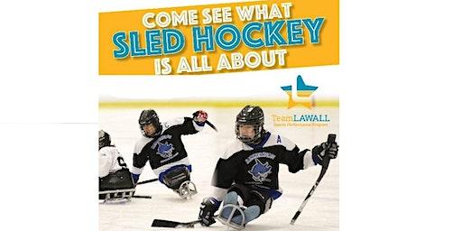 Team Lawall/Hammerhead Sled Hockey Team:  Intro to Sled Hockey
