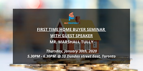 First Time Home Buyer Seminar - Tips and Tricks with Marshall Tully tickets