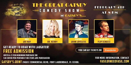 The Great Gatsby Comedy Show tickets