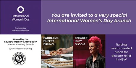 IWD by the CWA 2020 tickets
