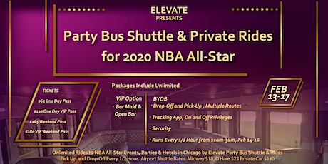 NBA All-Star 2020 Party Bus Shuttle to Events, Hotels, and  Airports tickets