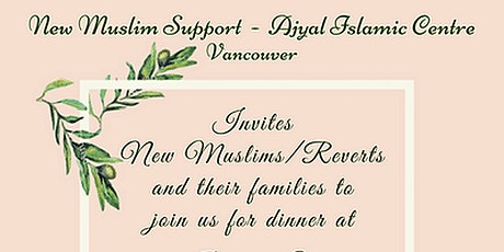New Muslim/Reverts Family Dinner tickets