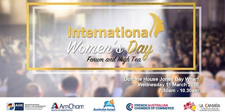 NSW | International Women's Day - 11 March 2020 tickets