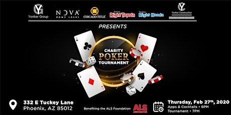 Charity Poker Tournament  Benefiting  ALS  Association Arizona Chapter tickets