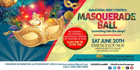 Inaugural Rent-Control Masquerade Ball tickets