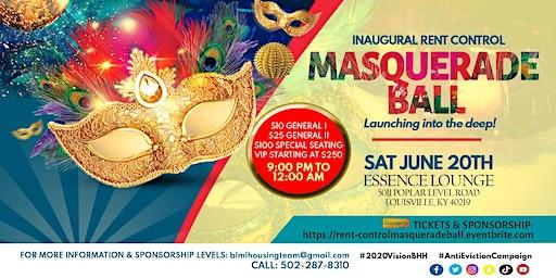 InauguralRent-Control Masquerade Ball