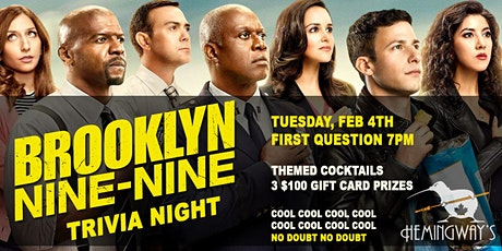 Brooklyn Nine-Nine Trivia 3.4 tickets