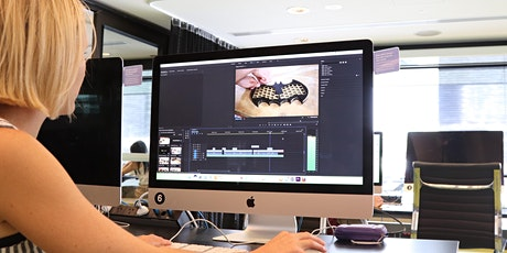 Professional video editing - intro to Premiere Pro tickets