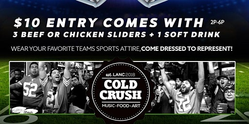 Cold Crush 1st Annual Super Bowl Watch Party