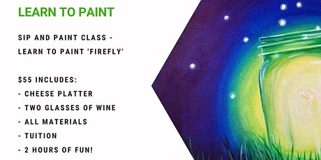 Grab a glass of wine and learn to paint 'Firefly' tickets