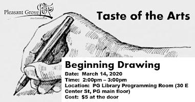 Beginning Drawing (Pleasant Grove Taste of the Arts)