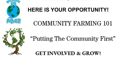 Community Gardening 101: Putting The Community First Session 2 tickets
